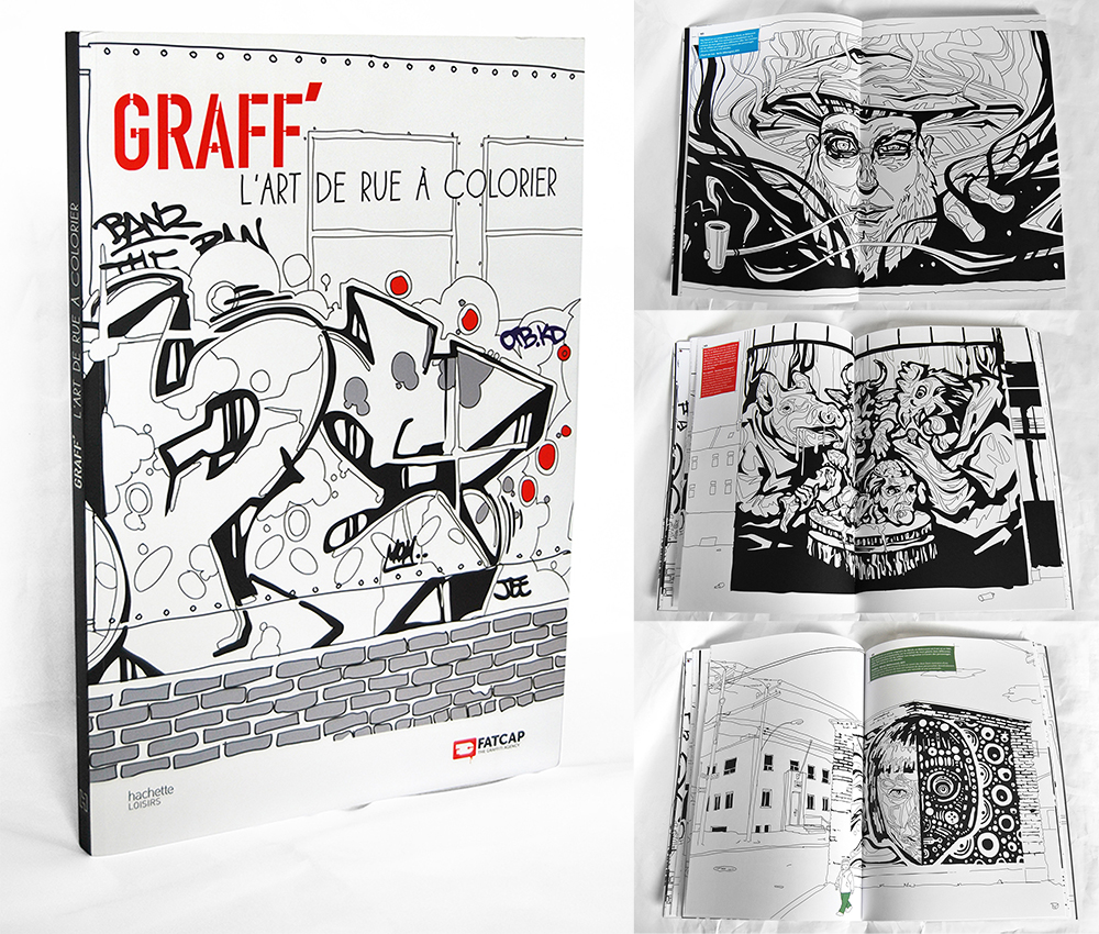 Click to enlarge image 5-2014 - Graffiti coloring book Graff lart de rue  colorier.jpg